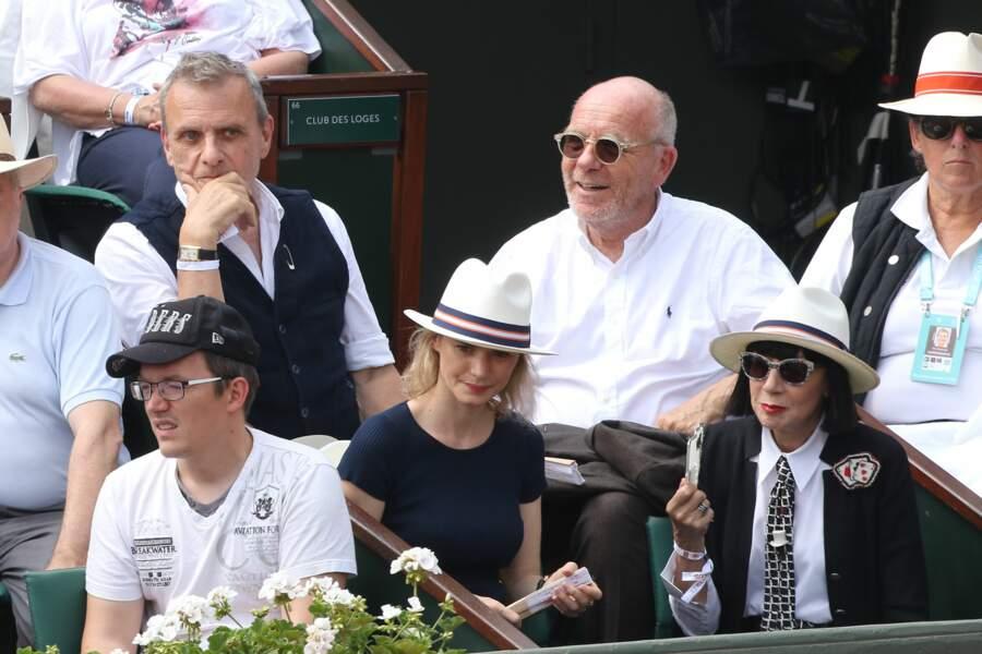 Jean Charles De Castelbajac,Pauline De Drouas, Chantal Thomass et son mari Michel Fabian