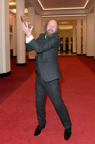 Philippe Katerine très fier de son César pour le meilleur second rôle masculin
