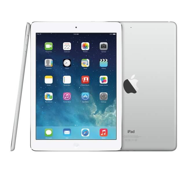 Avec l'iPad Air, Apple reste la référence des tablettes