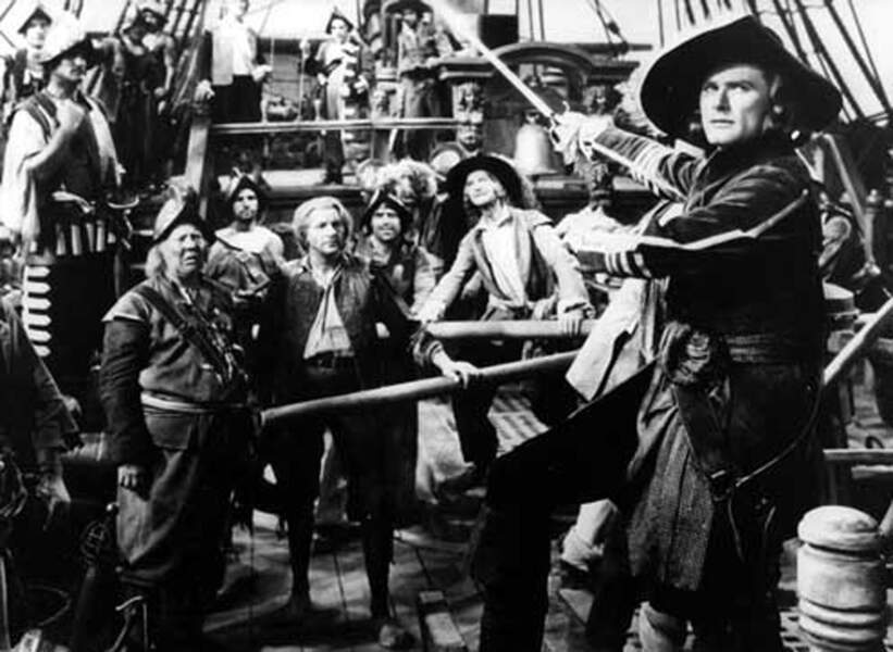 Capitaine Blood (1935) avec Errol Flynn