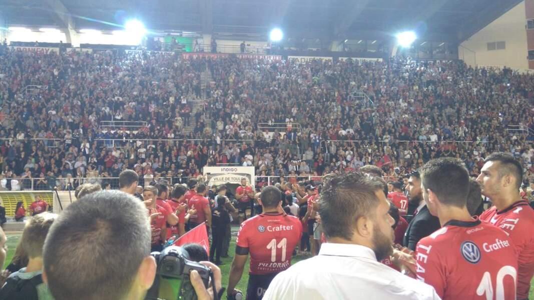 Toulon aussi a gagné son ticket pour la suite !