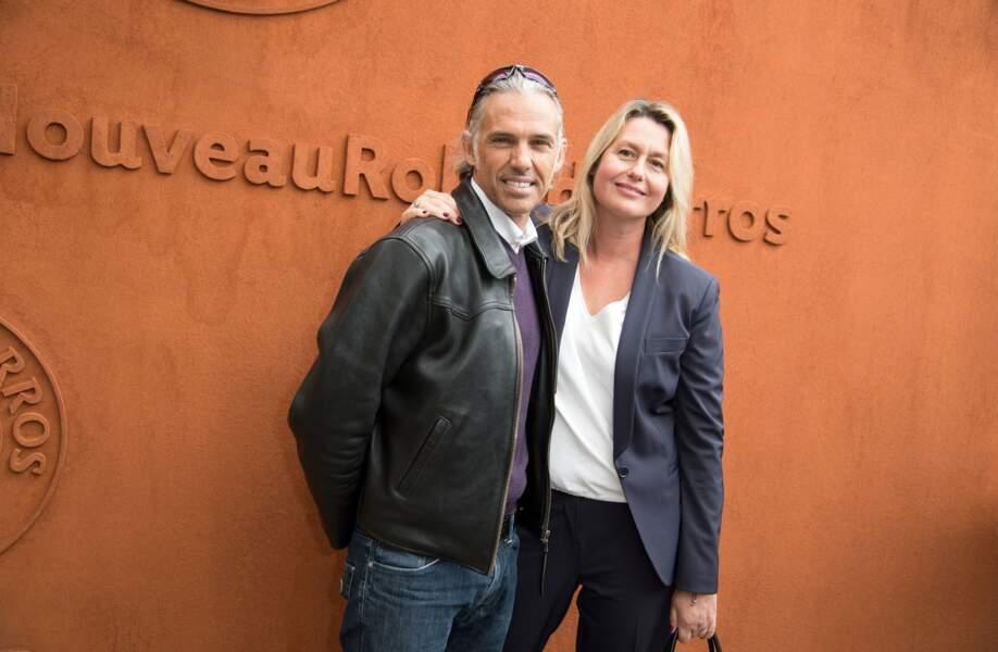 Les Belmondo aiment Roland-Garros. N'est-ce pas Paul et Luana ?