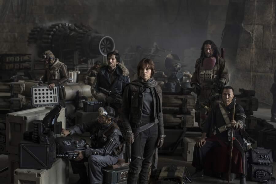 Le commando rebelle de Rogue One, spin-off de Star Wars, chargé de ramener les plans de l'Etoile Noire (14/12)