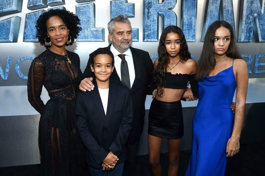 Luc Besson était bien entouré de toute sa petite famille