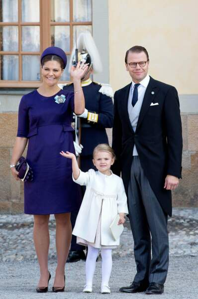 Suède : la petite Estelle devra attendre que maman Victoria règne avant d'être couronnée