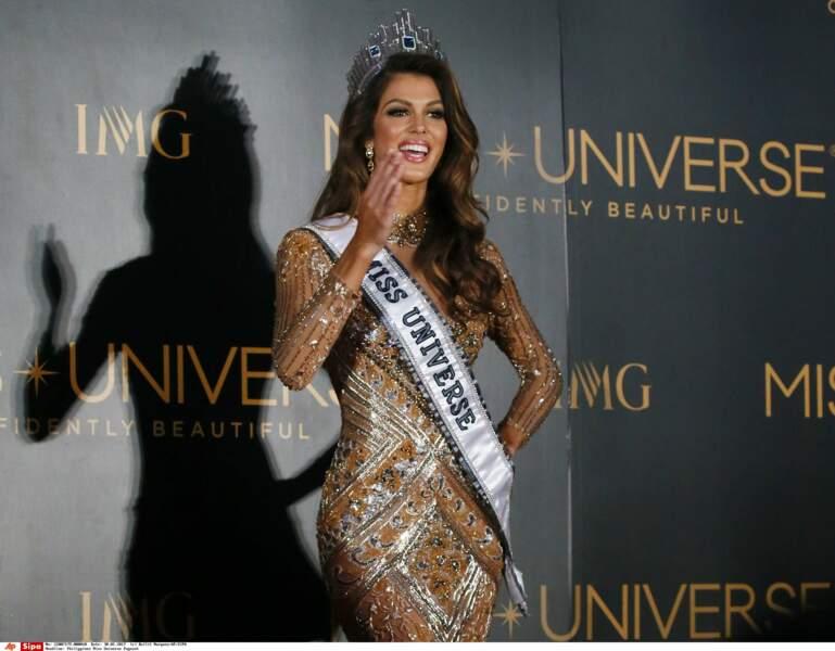 Une nouvelle aventure, internationale, débute pour la Ch'ti Iris Mittenaere, sacrée Miss Univers