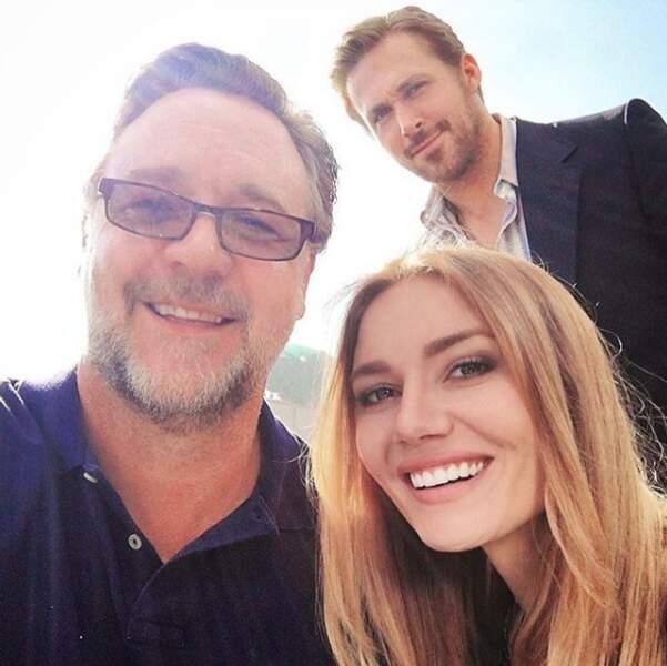 Jalousie ultime : la youtubeuse Andy Raconte a rencontré Russell Crowe. ET RYAN GOSLING.