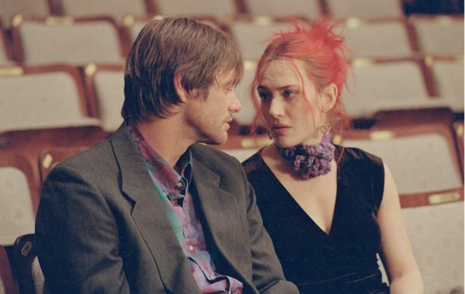 Kate Winslet et son étrange couleur de cheveux dans Eternal sunshine of the spotless mind (2004)