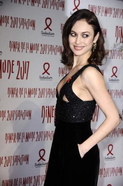 La comédienne Olga Kurylenko