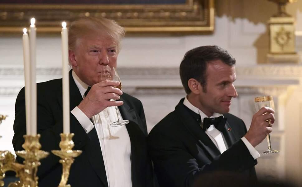 Un petit toast de l'amitié a ouvert la soirée