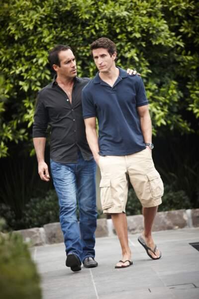 La gifle (3) : Alex Dimitriades et Jonathan LaPaglia soit Harry et Hector