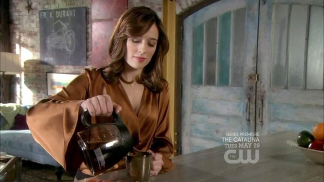 En 2011, les fidèles de Gossip Girl ont pu la voir dans la saison 5