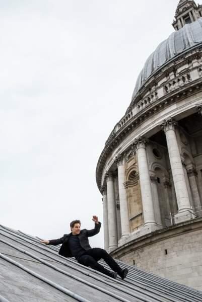 Tout schuss sur la cathédrale Saint-Paul (Londres).
