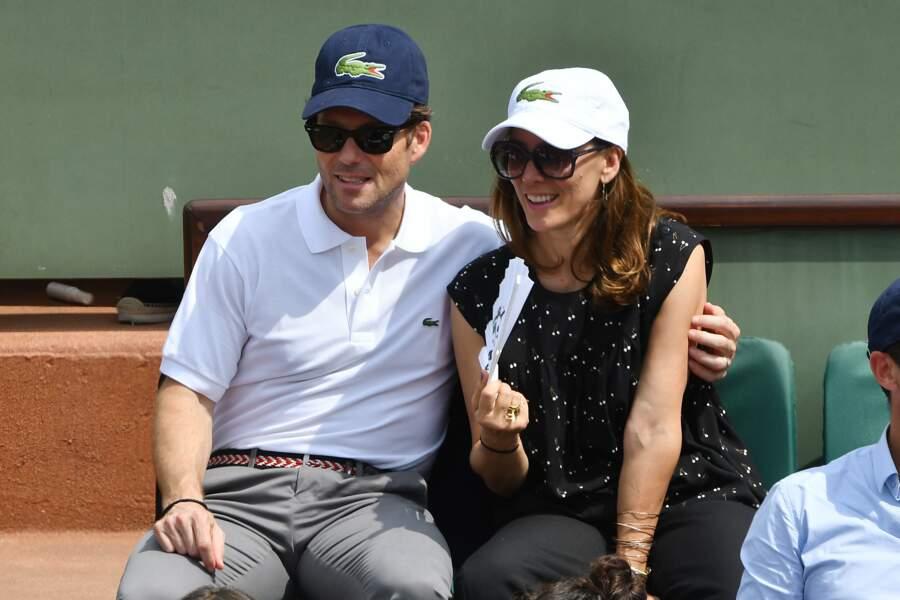 L'acteur britannique Jamie Bamber et son épouse Kerry Norton