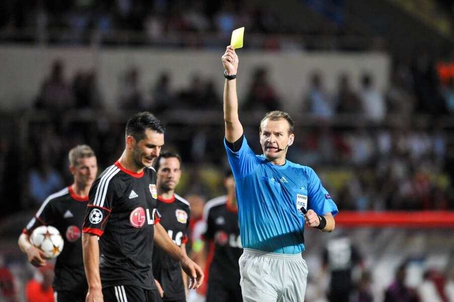Le Tchèque Pavel Kralovec a arbitré lors du tournoi olympique à Londres en 2012