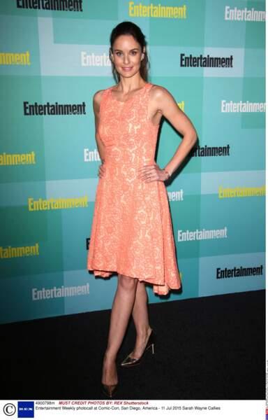 Sarah Wayne Callies, la star de Prison Break et The Walking Dead en mode été