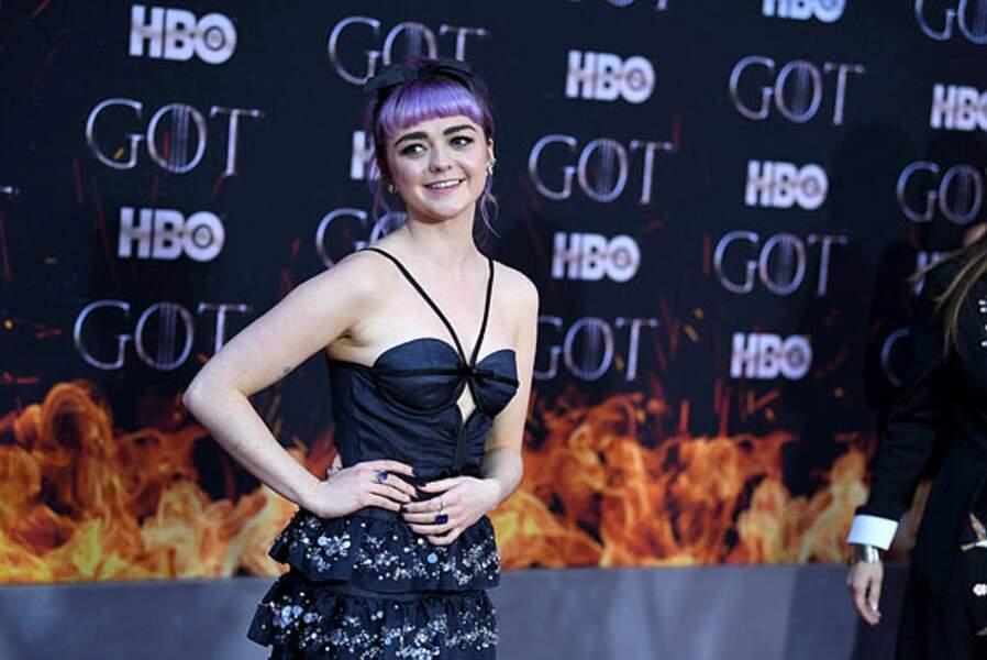 La petite Arya Stark a bien grandi (Maisie Williams)