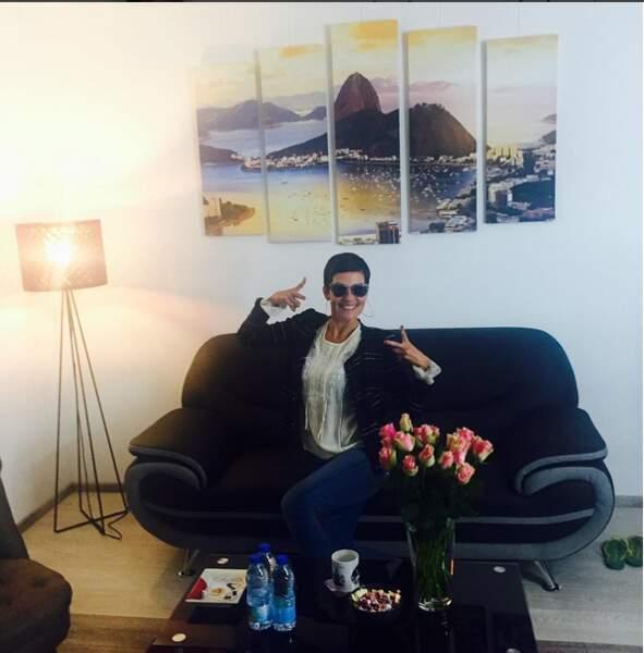 Cristina Cordula nous présente la nouvelle loge pour Reines du shopping !