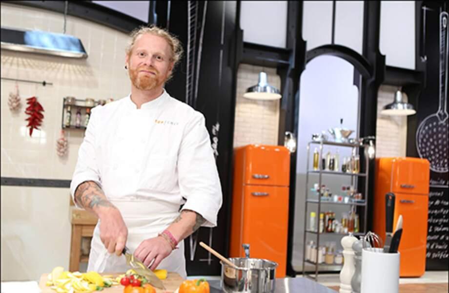 Nicolas Pourcheresse, 43 ans, Lille, Chef de son restaurant et plus jeune chef étoilé de France en 2005