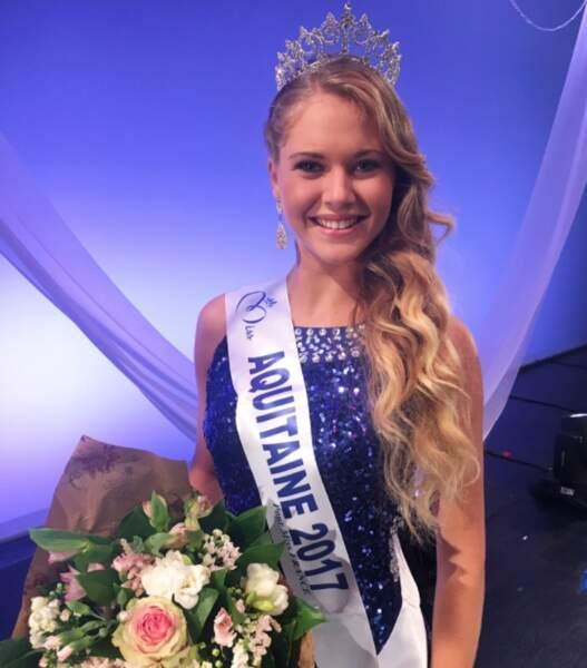 Cassandra Jullia (18 ans) élue Miss Aquitaine