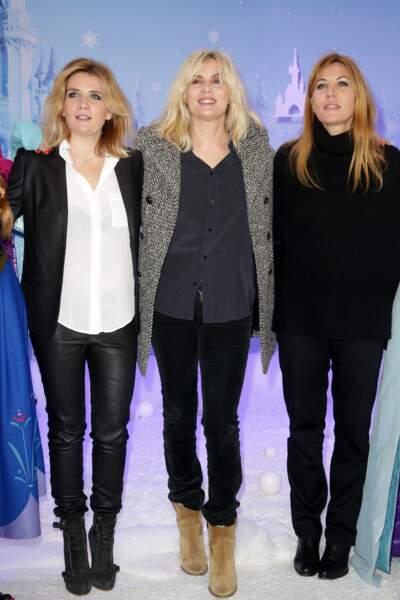 Voici les soeurs Seigner : Marie-Amélie est chanteuse, Emmanuelle et Mathilde sont actrices.