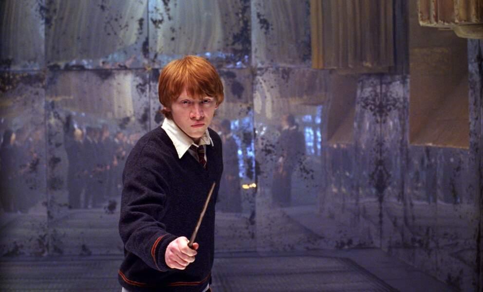 A l'époque, Rupert Grint a 19 ans.