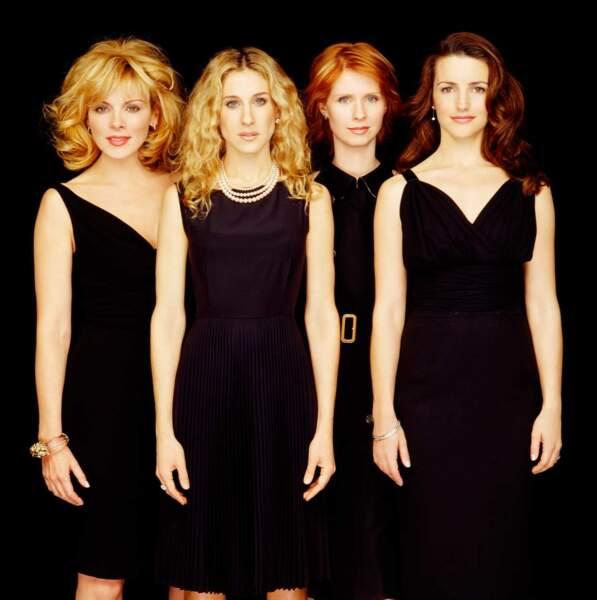 Non vraiment, la robe noire, c'était une bonne idée pour rester toujours dans l'air du temps, mais les brushing...