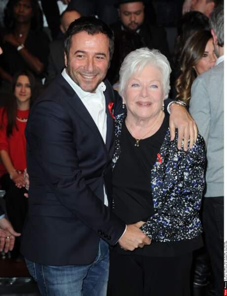 Bernard Montiel et Line Renaud