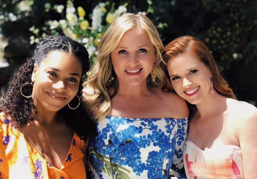 Avec Kelly McCreary, les jeunes femmes ont formé un sacré trio