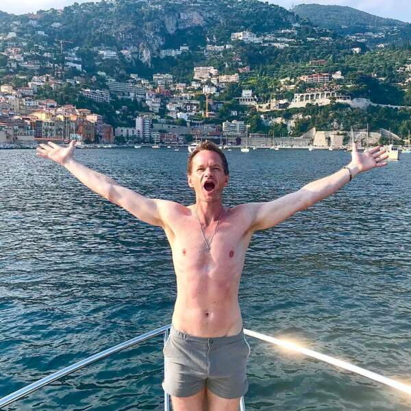 Neil Patrick Harris crie de bonheur : normal, il passe ses vacances en France !