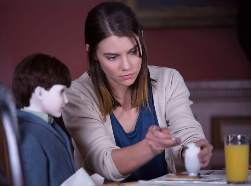 Elle est l'héroïne de The Boy, film horrifique où elle joue les babysitters pour une poupée... maléfique !
