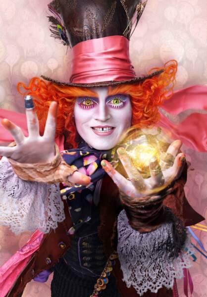 Alice de l'autre côté du miroir (01/06) : le chapelier (Johnny Depp) est de retour aussi
