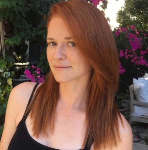 Pour filmer la saison 14 de Grey's Anatomy, Sarah Drew est redevenue rousse comme April !