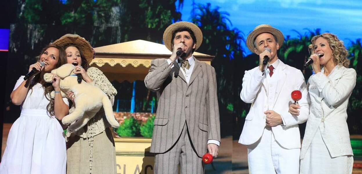 Pomme d'amour et chapeau de paille