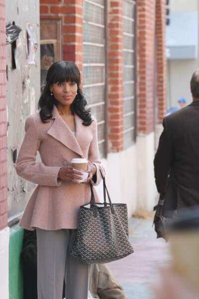 Olivia affectionne également les vestes...
