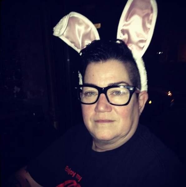 Pour l'actrice Lea DeLaria, des oreilles de lapin suffisent
