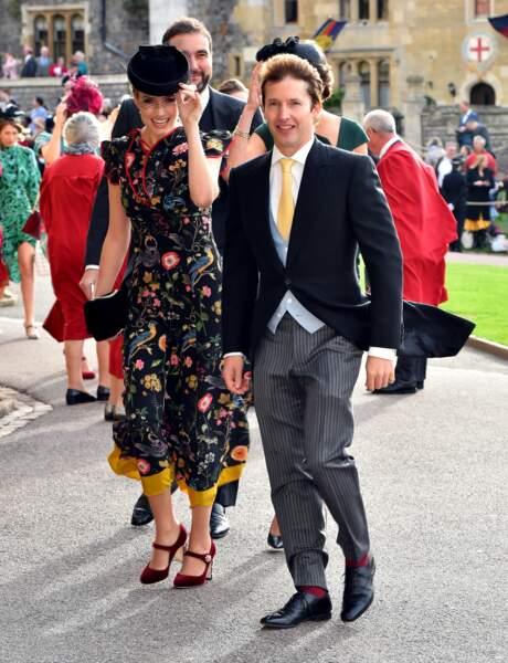 Sofia Wellesley et James Blunt