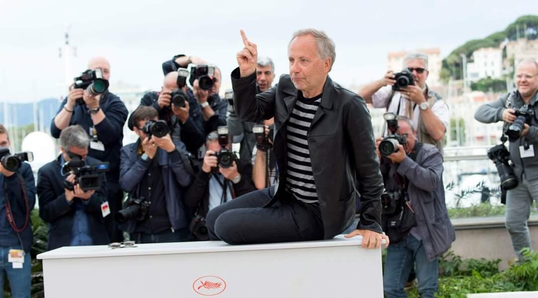 Plus tôt dans la journée, Fabrice Luchini est venu présenter le film Ma Loute de Bruno Dumont