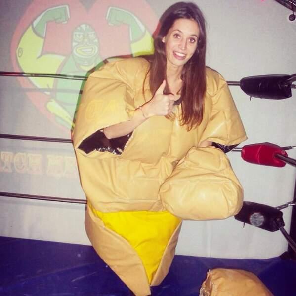 Ah par contre, pas d'épreuve sumo dans Koh-Lanta, Manon...