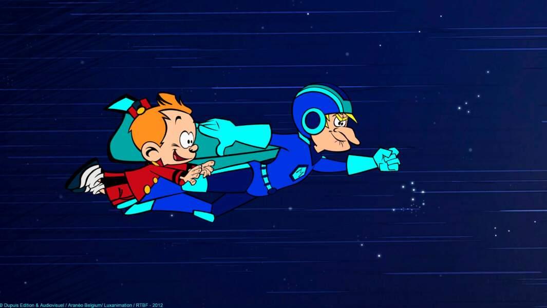 Le personnage créé par Tome et Janry a une imagination sans limite