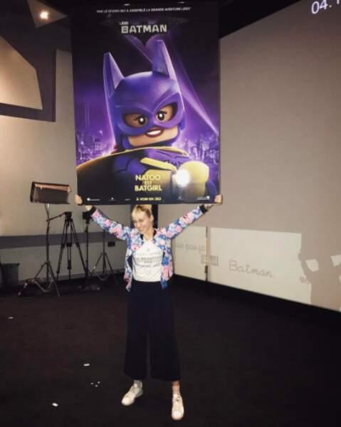 La youtubeuse Natoo prêtera sa voix à Batgirl dans le film Lego Batman.