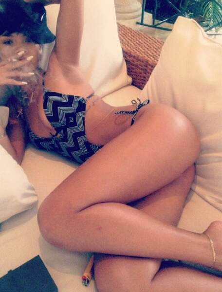 Rihanna très... hot !