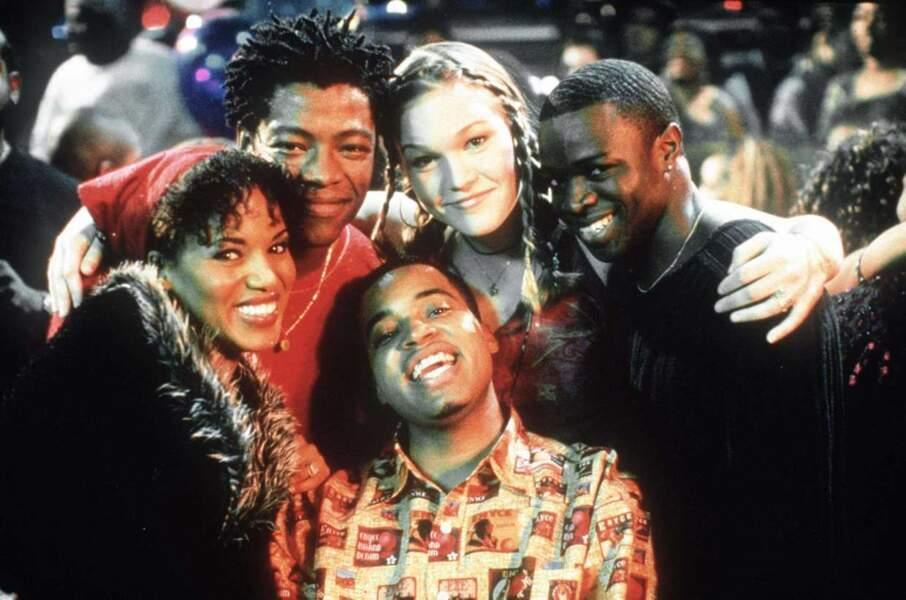 Ici, dans Save The Last Dance (tout à gauche). Elle incarnait Chenille Reynolds