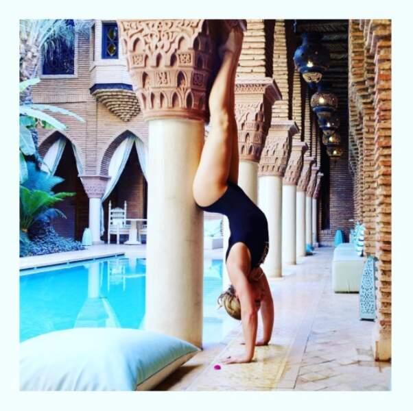 Emmanuelle Berne de Danse avec les Stars a vu le monde à l'envers à Marrakech.