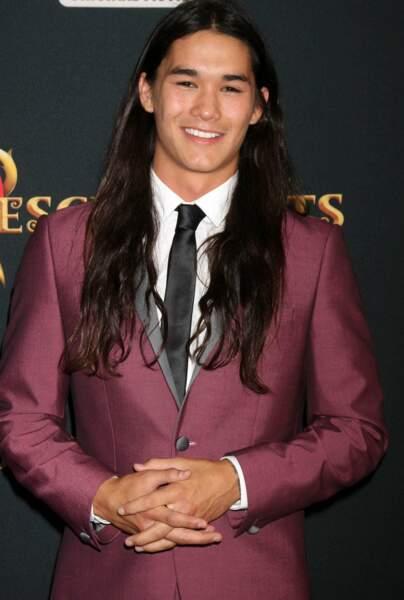 ... et il partage cette passion avec son interprète Booboo Stewart, vu dans la saga Twilight.