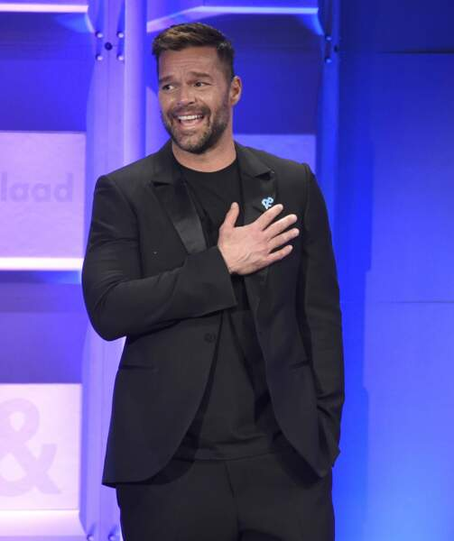 Et pour récompenser tout ce beau monde, Ricky Martin était le maître de cérémonie !