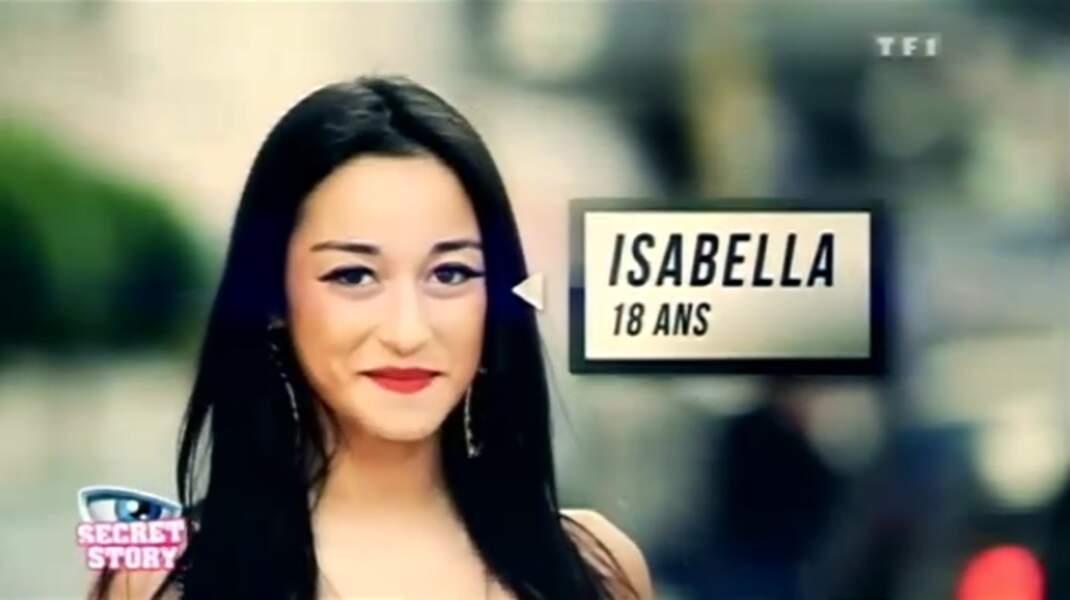 """Isabella (Saison 6) : """"Je suis descendante de samouraï"""""""
