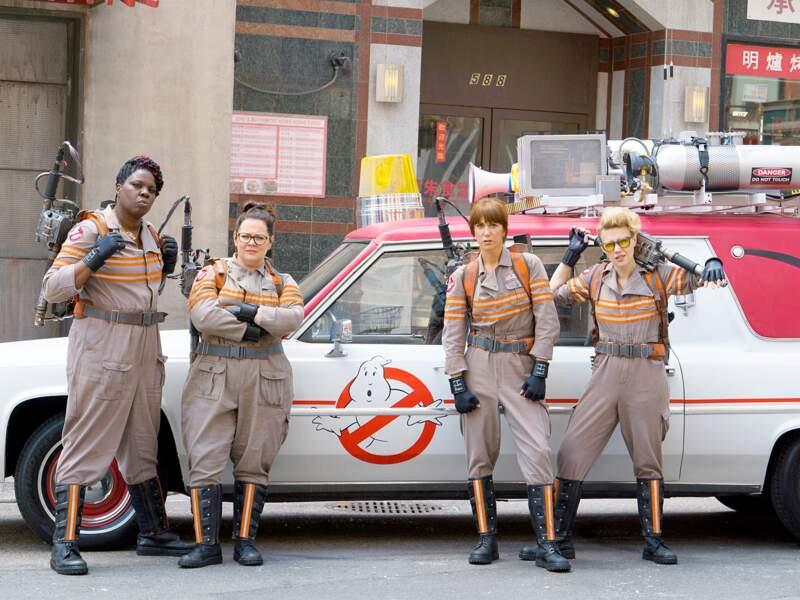 Toute la fine équipe de SOS Fantômes, nouvelle version féminine du film culte (20/07)