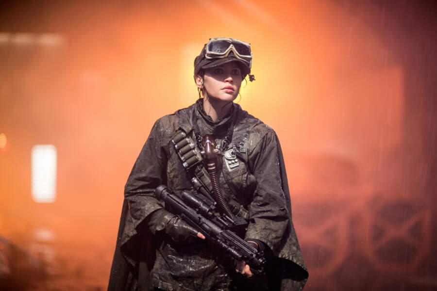 Jyn dans Rogue One, encore une combattante