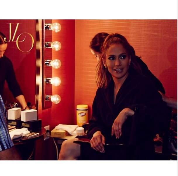 Jennifer Lopez en coulisses : la bomba latina est toujours aussi sensuelle